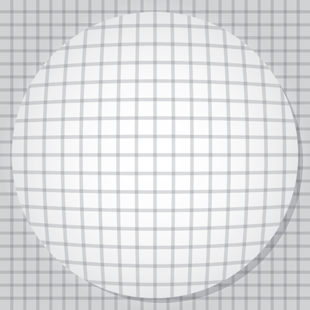 bulging: Bulging circle. Vector illustration EPS10 Illustration