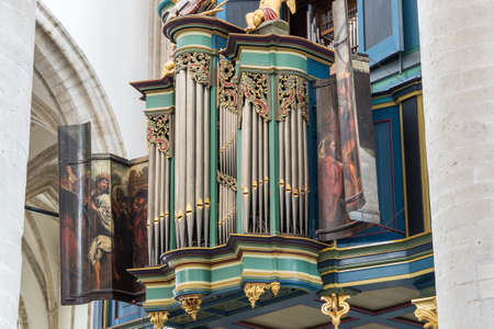 The Flentrop organ at the Great Church in Breda was build in 1967-1969. It can be used for music from any style period. 報道画像