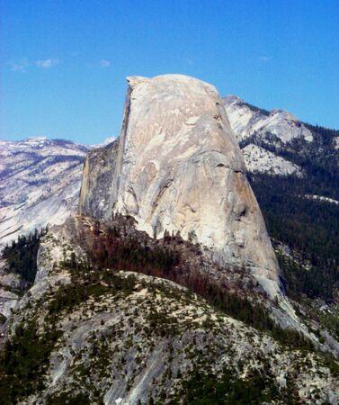 Half Dome Mountain