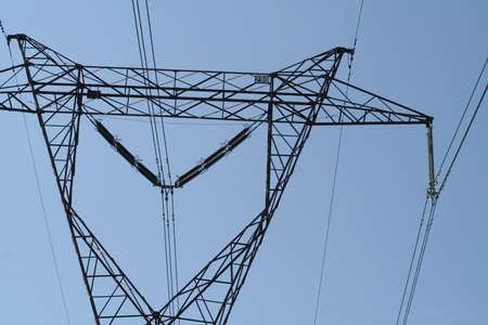 power pole: Voltage power pole