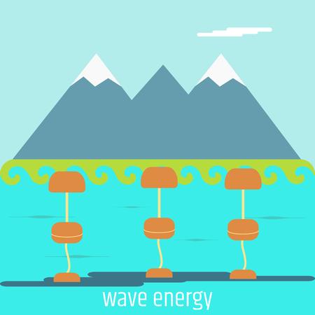 alternative energy source wave station