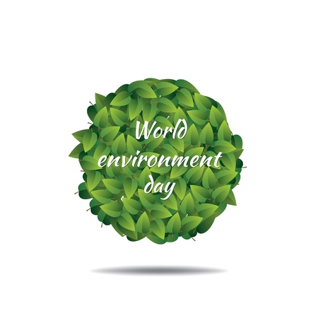World Environment day concept. Vector illustration