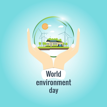 World Environment Day. Иллюстрация