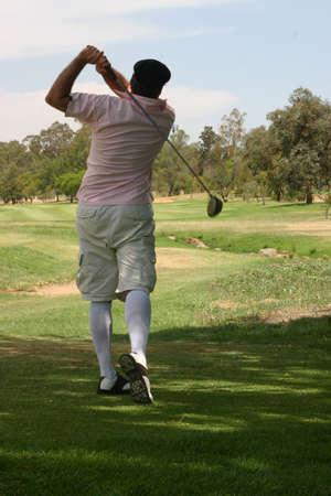 old time: Old time golfer