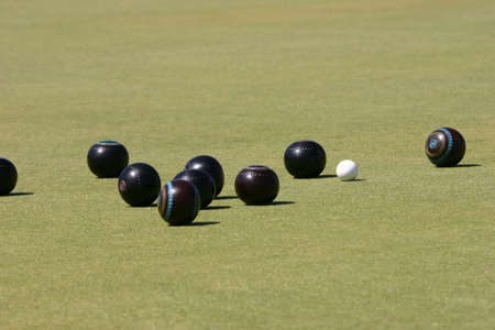 hunted: The jack being hunted by bowls