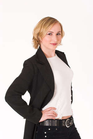 dressed for success: Business woman dressed for success