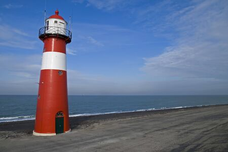 Lighthouse on the North Sea photo