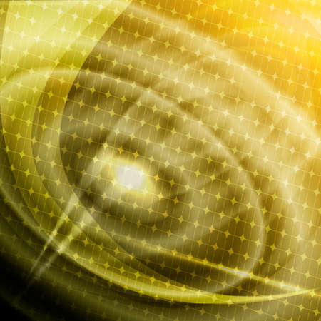 Abstract background with illuminated concentric circles Stock Photo - 25433976