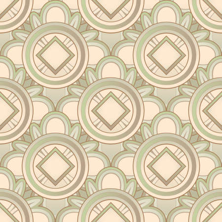 Abstract Seamless Medieval Pattern