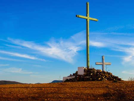 cat�licismo: crucero catolicismo Foto de archivo