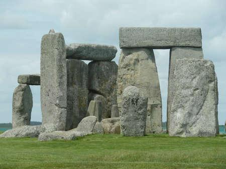 Views of Stonehenge at Amesbury, UK