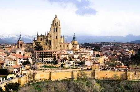 segovia: Segovia with the Santa Maria Cathedral