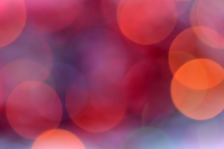 bokeh: Holiday defocused lights as abstract background