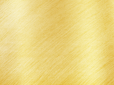 Golden Metal Texture with Reflection Stripes as Background