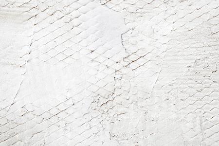 Stenen Muur Wit : Wit geschilderde stenen muur als industriële achtergrond royalty