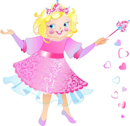 This is fairy-princess  with the magic wand