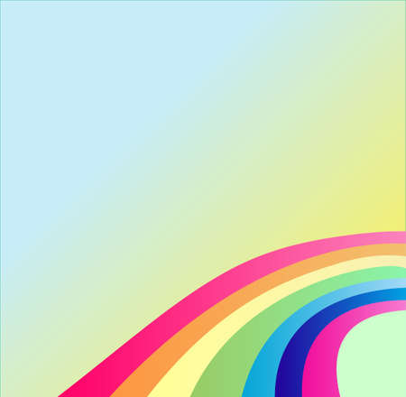 This is rainbow, above it your text