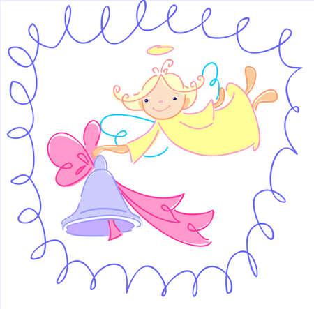 angeles bebe: El ángel quiere felicitar a alguien en una fiesta