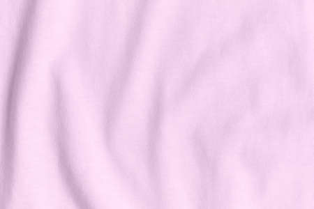 Silk fabric of pink color as background and texture.