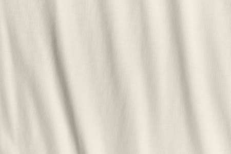 Texture and background of crumpled Gray fabric. Standard-Bild