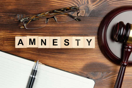 The concept of amnesty in court cases.