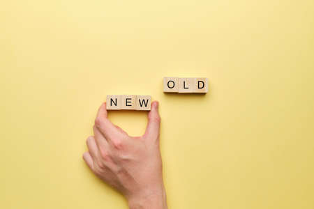 The concept of change from the old to the new way.