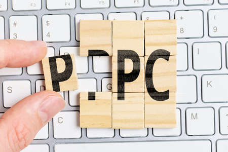 Model pay per click PPC for advertising on websites