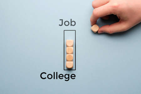 The concept of college time and subsequent job and careers.