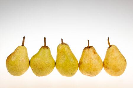 williams: Ripe williams pears Stock Photo