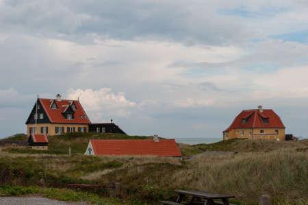 Old skagen Village in Northern Jutland in Denmark