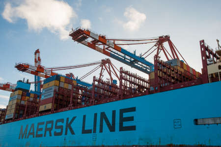 Maersk Shipping Stock Photos Royalty Free Maersk Shipping Images