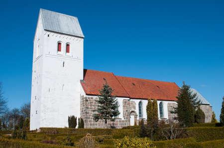 Norre Tranders church in Aalborg Denmark Stock Photo