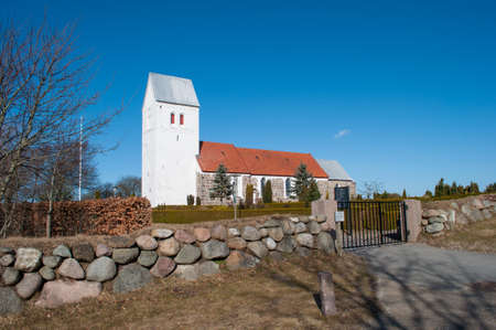 Norre Tranders church in Aalborg Denmark Stock Photo
