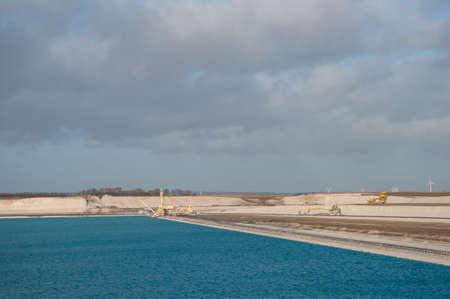 chalk quarry in Aalborg Denmark