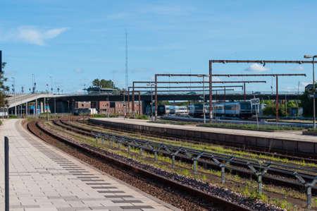 Aalborg train station Denmark