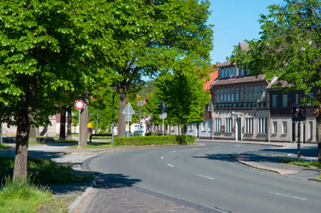 Town of Hasselfede in Germany Standard-Bild - 96083792