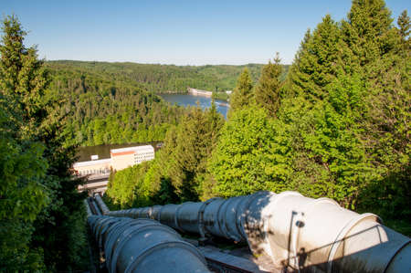 Rappbode power plant in Harz mountains in Germany