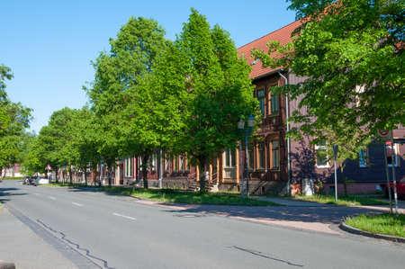 Town of Hasselfede in Germany Standard-Bild - 96175652