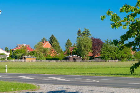 Town of Drubeck in Germany on a smmer day Standard-Bild - 96175568