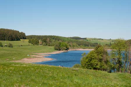 Reservoir in den Harz in Deutschland Standard-Bild - 96176514