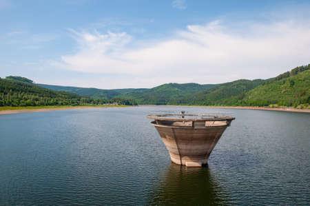 Innerste Reservoir in Harz mountains in Germany Standard-Bild - 96083408