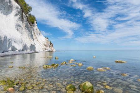 Moens klint chalk cliffs in Denmark