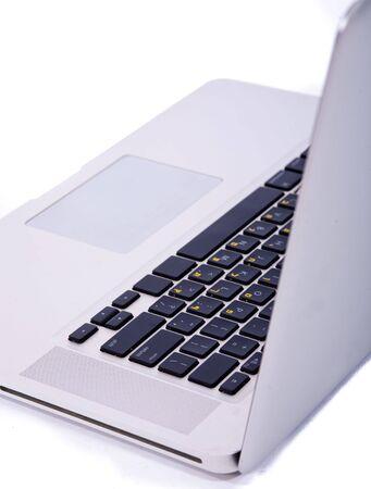 laptop on isolated background Stock Photo - 6079329