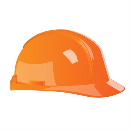 illustration of hard hat on white background Stock Illustration - 7781113