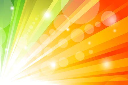 illustration of bright sunburst background illustration