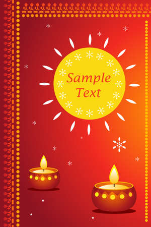 great way for expressing diwali greetings with sample text photo