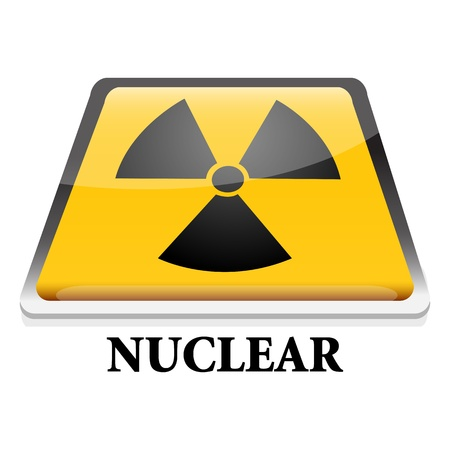 illustration of nuclear with white background Stock Vector - 8247004