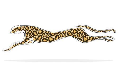 tigresa: Ilustraci�n de fondo aislado con imagen de tigre