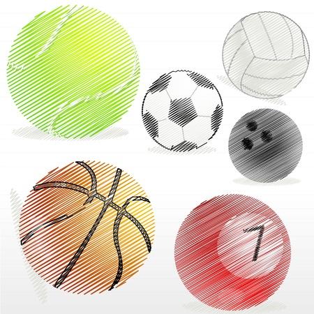 cricket sport: illustration of ball