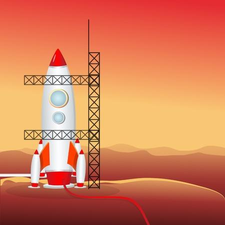 Illustration de lance-roquette